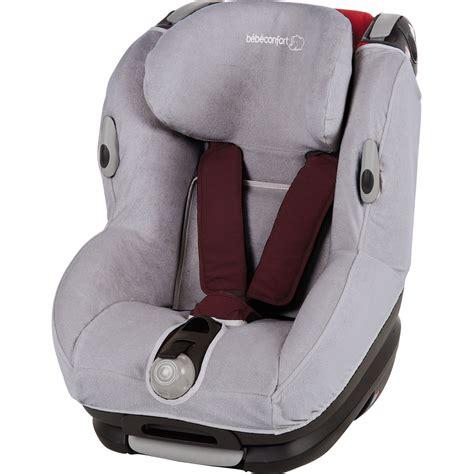housse siege auto confort housse eponge pour siège auto opal cool grey de bebe confort