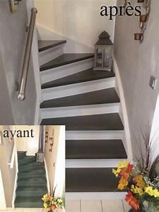 Renovation Marche Escalier : r novation d escalier menuiserie douai nord ~ Premium-room.com Idées de Décoration