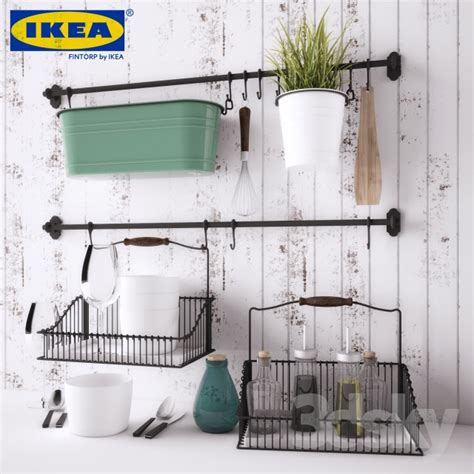 3d Models Other Kitchen Accessories  Ikea Fintorp