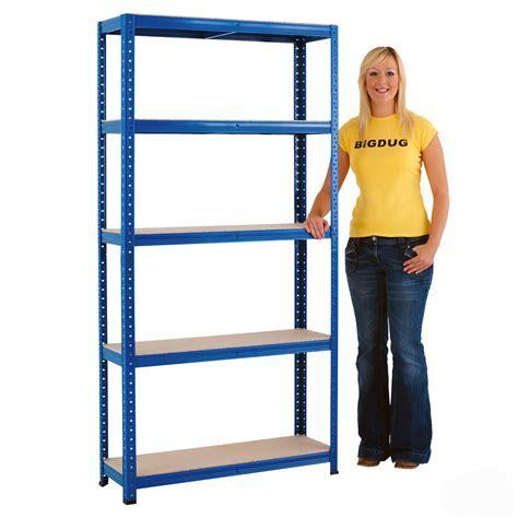 5 Tier Shelving Garage Shelving Racking Storage Warehouse