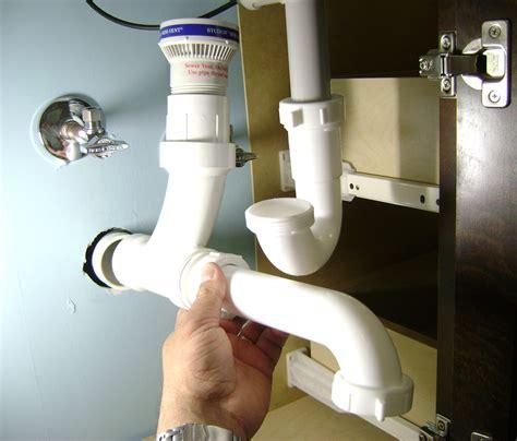 kitchen   install pea trap   kitchen sink