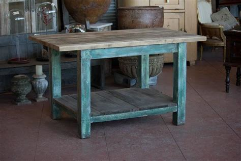 vintage kitchen island table antique work table or kitchen island at 1stdibs