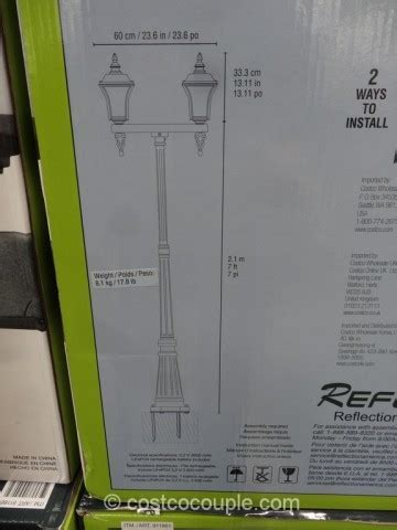 Solar LED Lamp Post
