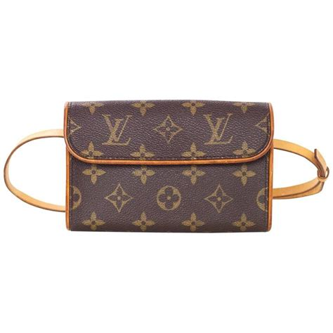 louis vuitton monogram pochette florentine belt bag sz