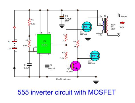 Inverter Circuit Read Wiring