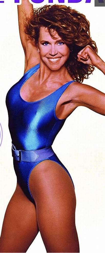Leotard Jane Fonda Leotards Retro Fitness Actresses