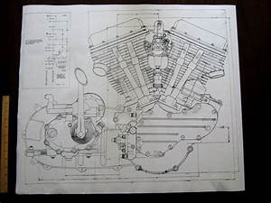 49 Best Images About Harley Davidson Engine Blueprint
