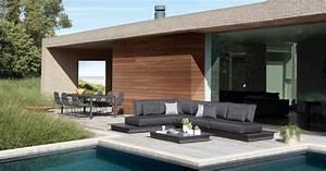 Mobilier D Extérieur : mobilier ext rieur de standing art de vivre piscine jardin ~ Teatrodelosmanantiales.com Idées de Décoration