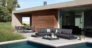 mobilier exterieur de standing art de vivre piscine With mobilier de piscine design