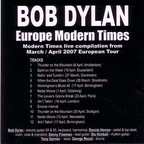 bob modern times bob europe modern times 1 cd giginjapan
