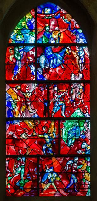 chagall window chichester cathedral  julian p guffogg