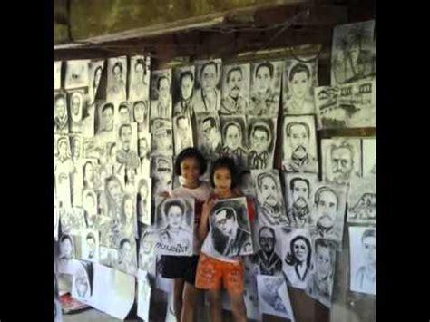 เด็ก ป6 ป4 วาดภาพเหมือนขายตลาดนัด หาเงินช่วยพ่อ แม่ - YouTube
