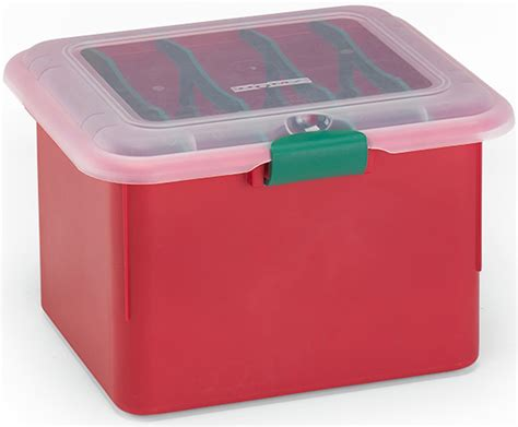 homz holiday lights storage box