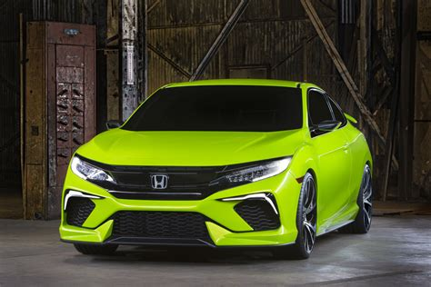 Honda Civic Concept Is New Yorks Colored Spot Previews