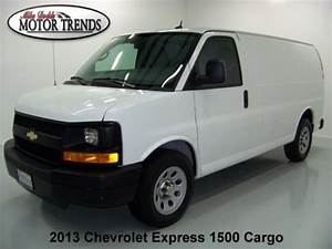 Purchase Used 2013 Chevy Express 1500 Cargo Van Stabilitrak Onstar Am Fm 28k Motor Trends Tx In