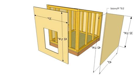 luxury german shepherd dog house plans  home plans design