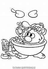 Mr Potato Head Coloring Pages Coloriage Potatohead Heros Coloriages Tv Fun Printable Ausmalbilder Ratings Yet Von sketch template