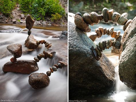 rock balance gravity defying stone balancing art by michael grab