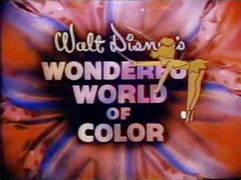 what year did the color tv come out walt disney s wonderful world of color tv when i was born