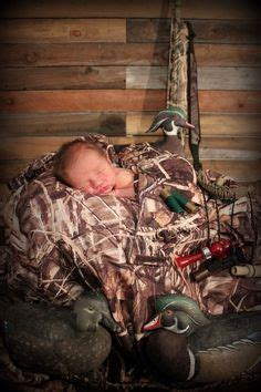 hunting newborn setup baby popa baby pictures baby