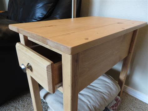 ana white narrow cottage  table diy projects