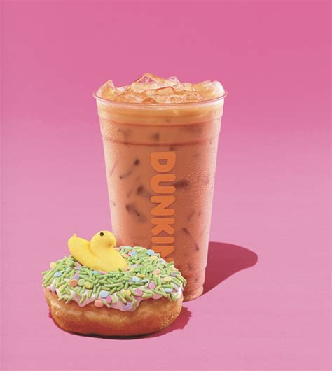 Nothin' gets you runnin' like dunkin' original iced coffee, so why not keep the flavor you love right in your fridge? Dunkin' Introduces Peeps-Flavored Coffee, Peeps Donut - Dunkin' Peeps Coffee
