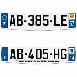 Plaque D Immatriculation Norauto : plaques d 39 immatriculation auto aluminium pr perc evolution ep ~ Dailycaller-alerts.com Idées de Décoration