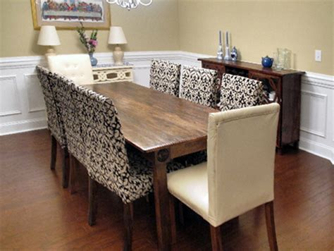 home dzine home diy upholster   dining chairs