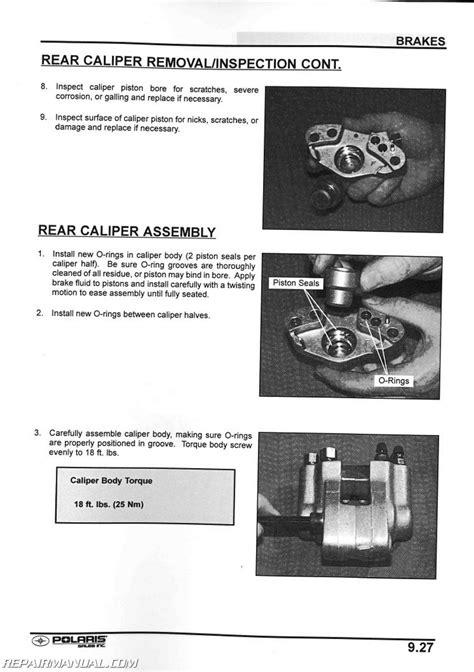 Polaris Xplorer Atv Service Manual