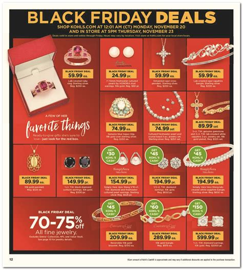 black friday table deals 2017 kohl 39 s black friday ad scan for 2017 black friday