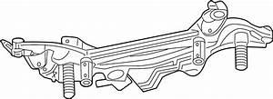 Lincoln Mkz Suspension Subframe Crossmember  Rear   Fusion