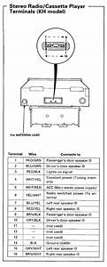 1990 Honda Accord Factory Radio Wiring Diagram