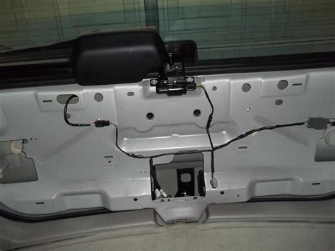 Ford Escape Rear Hatch Won Open Complaints