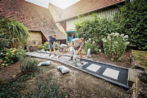 Wege Im Garten by Wege Anlegen Hornbach