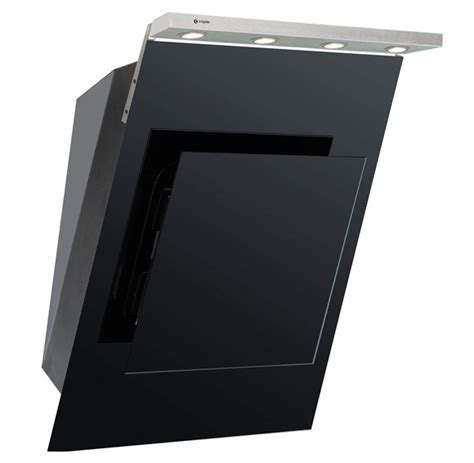 Caple, AS611BK, Chimney Cooker Hood   Appliance House