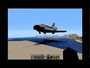 1:1 Scale Minecraft Space Shuttle Tour - YouTube