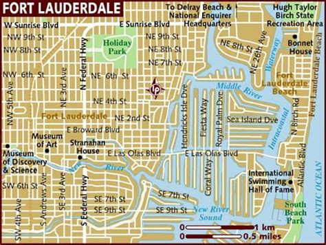 Miami Boat Show Directions by Map Of Fort Lauderdale The Best Beaches In The World