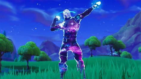 galaxy skin gameplay   fortnite emotes