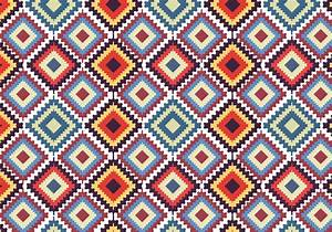 Native American Seamless Pattern - Download Free Vector ...