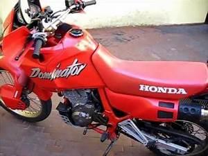 Honda Dominator 650 Fiche Technique : 1988 honda nx 650 dominator start up and walk around youtube ~ Medecine-chirurgie-esthetiques.com Avis de Voitures