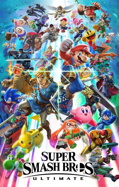 Smash Bros Anime Wallpaper - high resolution smash bros ultimate artwork beautiful