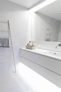 ou trouver le meilleur miroir de salle de bain avec With carrelage adhesif salle de bain avec luminaire led miroir salle de bain