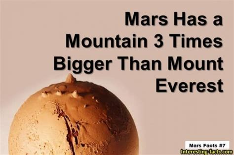 Mars Facts - 10 Fun & Interesting Facts about Mars ...