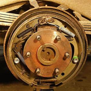 Can You Send Me A Diagram For The Rear Drum Brakes