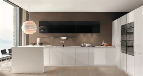cucina lineare  una casa moderna filovanity top
