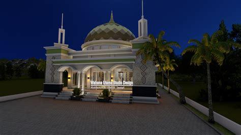 jasa desain masjid bapak arsyal aras  topoyo mamuju