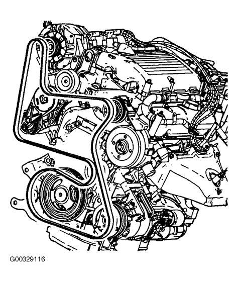 Chevrolet Malibu Serpentine Belt Routing Timing