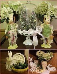 easter home decorations Ladybug Creek: Easter Decorating - Done!
