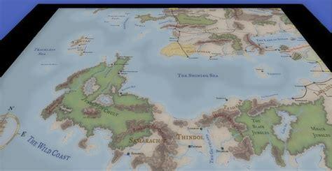 kamals faerun overland map  neverwinter vault