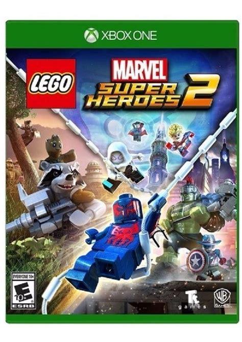 Lego es una saga de videojuegos con títulos en nuestra base de datos desde 1999 y que actualmente cuenta con un total de 84 juegos para ps5, xbox series x/s, switch, android, xbox one, ps4, wii u, iphone, psvita, nintendo 3ds, ps3, wii, psp, nds, xbox 360, gamecube, xbox. Lego Marvel Super Heroes 2 Xbox One Nuevo - $ 699.00 en ...